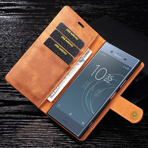 Image 4 - For Sony Xperia  XZ2 XZ3  pu Retro Leather Book Stand Wallet Detachable Magnetic 2 in 1 Removable Card Cover Case