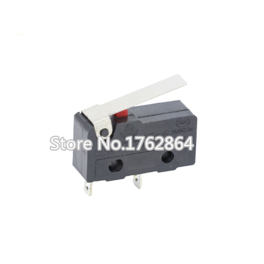 10PCS Limit Switch, 2 Pin N/O N/C High quality All New 5A 250VAC KW11-3Z Micro Switch Factory direct sale
