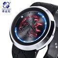 Sin crown watch LED Men Watch Top Brand Xingyunshi Luminous Wristwatch Male Reloj Hombre Orologio Uomo Relogio Masculino