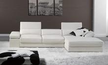 Free Shipping 2013 Modern French Design Genuine Leather L Shaped Corner Sofa Best living room the sofa LA066