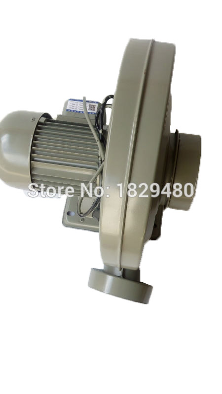220V 550W exhaust fan air blower centrifugal blower medium pressure lower noise for CO2 laser engraver &cutter