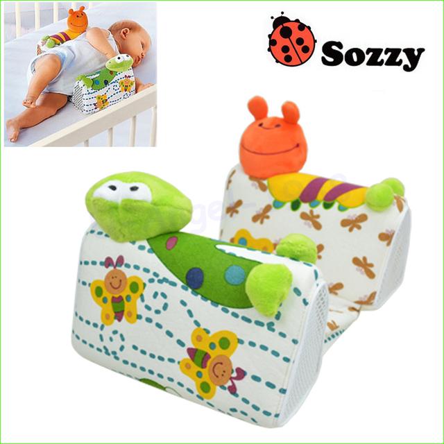 1 pcs Confortável Encantador Da Criança Do Bebê Seguro Cotton Anti Rolo Pillow Desenhos Animados Cabeça Posicionador Sono Anti-rolagem