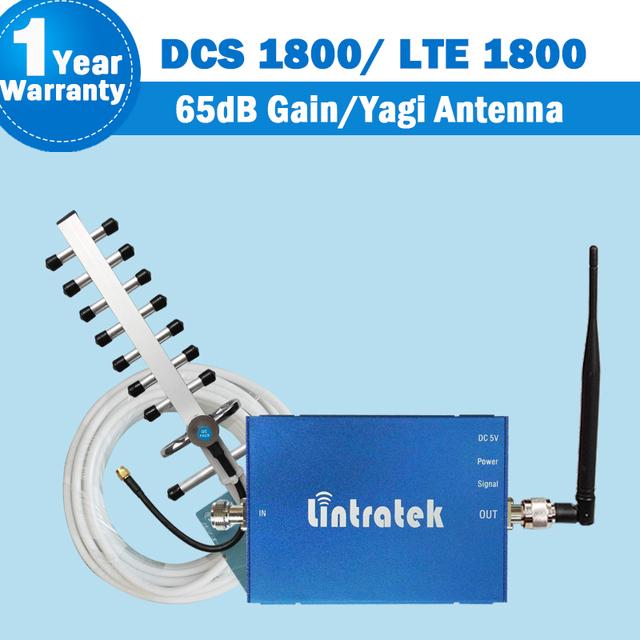 Antena GSM 4G 1800 Teléfono Celular de Refuerzo GSM 1800 mhz 4G LTE 1800 mhz Móvil Repetidor de Señal Celular Amplificador Yagi Antena Set 4g