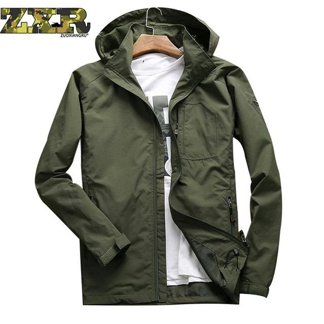 12e48dcaa81 Men Beach Tactical Military Jackets Coats Outdoor Sports Clothing Plus Size  Bicycle Bike Jersey Running Men Hiking Jacket Winter