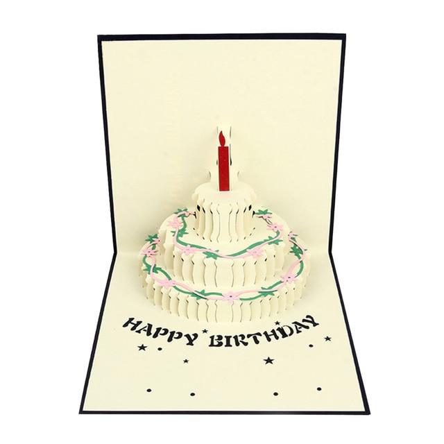 Super Buon compleanno biglietti di auguri 3d handmade pop up best  MC52