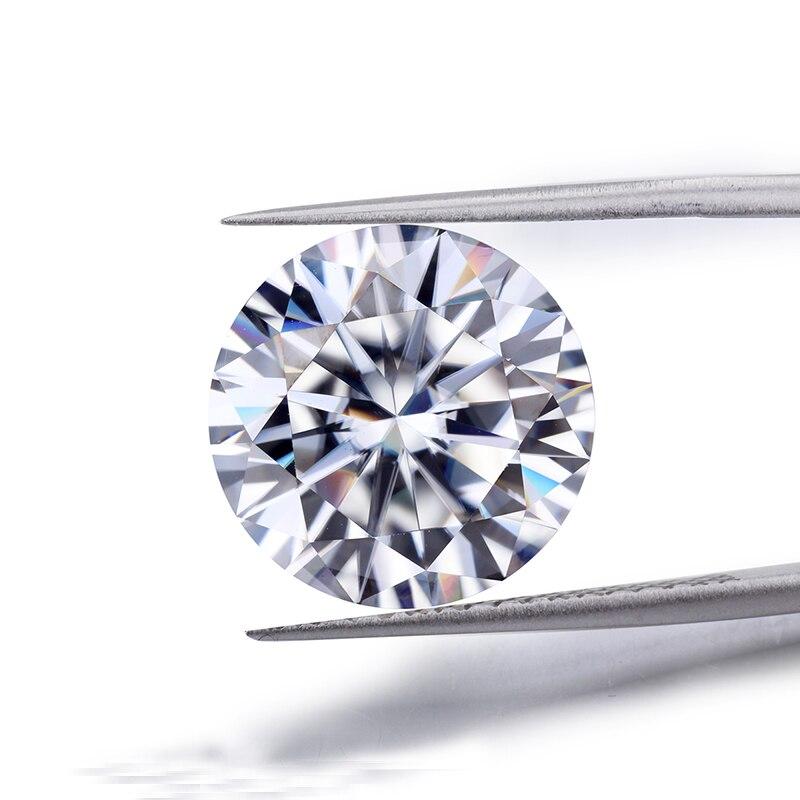 loose moissanite 1.5 carat 7.5mm EF color excellent Brilliant cut gem stone clarity VVS1 round shape Moissanite