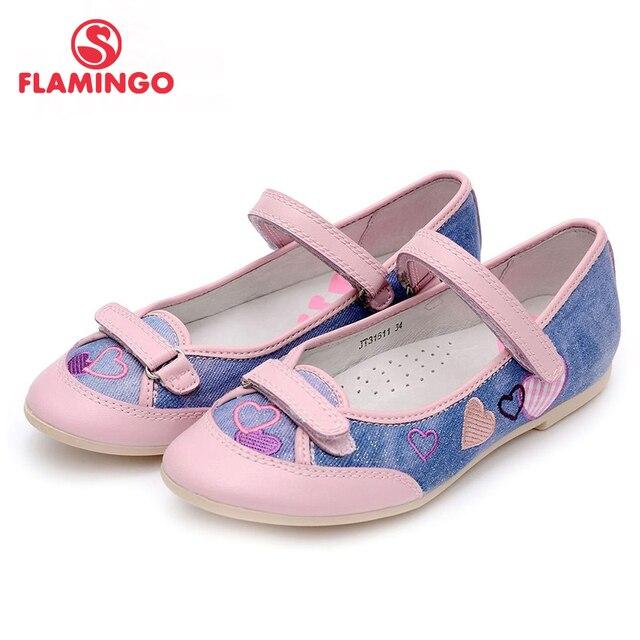 Flamingo 100% русский известный бренд 2016 новых прибытия весной и осенью дети мода высокое качество shoes jt31611