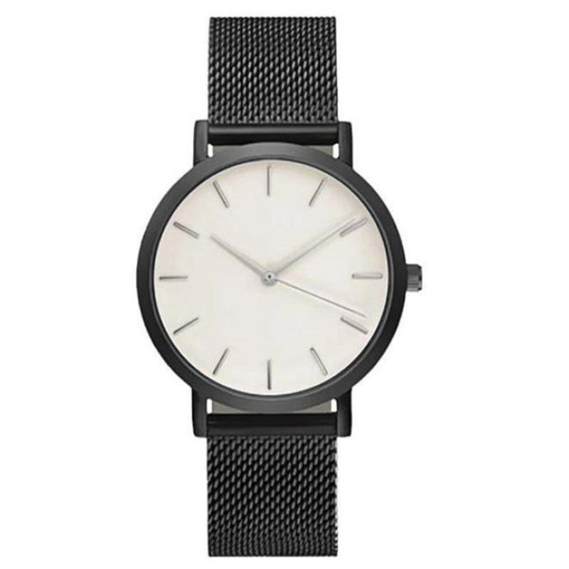 Fashion Watch for Women Stainless Steel Black