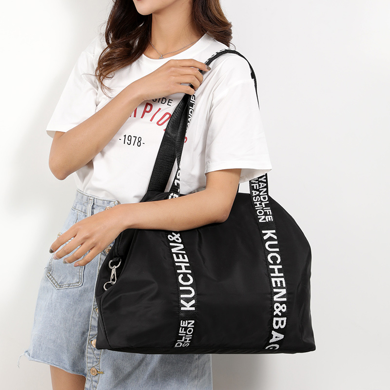 Women Vintage Travel Bags Large Capacity Oxofrd Tote Portable Luggage Daily Handbag Bolsa Multifunction luggage duffle bag in Travel Bags from Luggage Bags