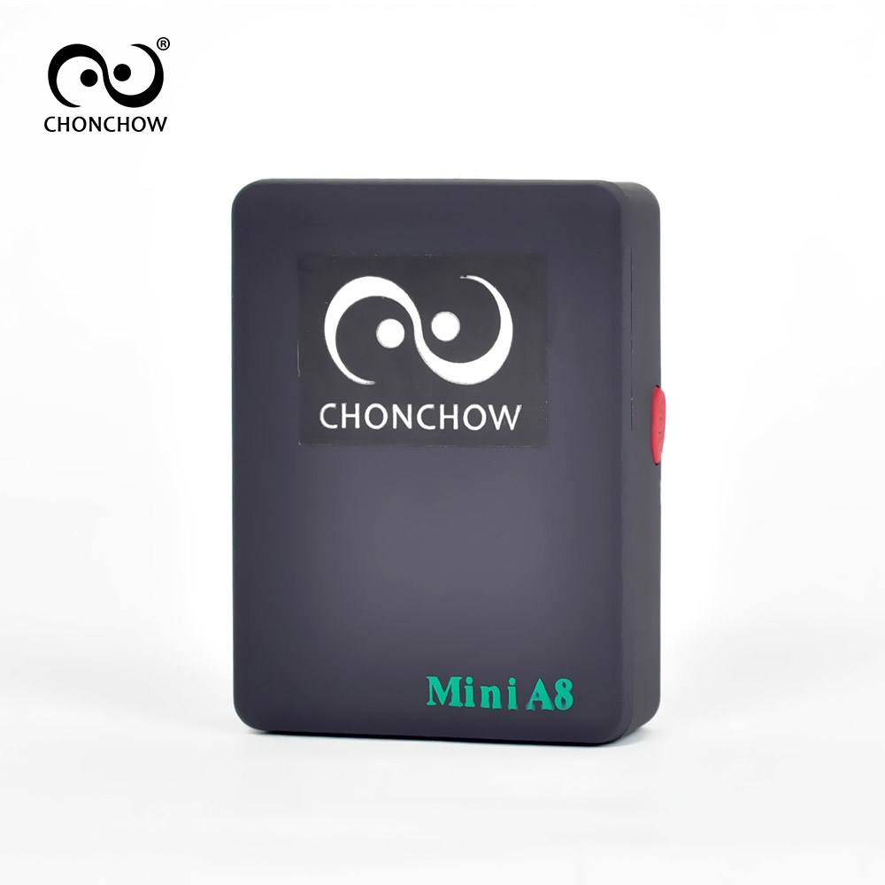 ChonChow Mini A8 2016 Newest GPRS Tracker Locator Real Time Car Kids Pet GSM/GPRS/LBS Tracking Power adapter High Quality