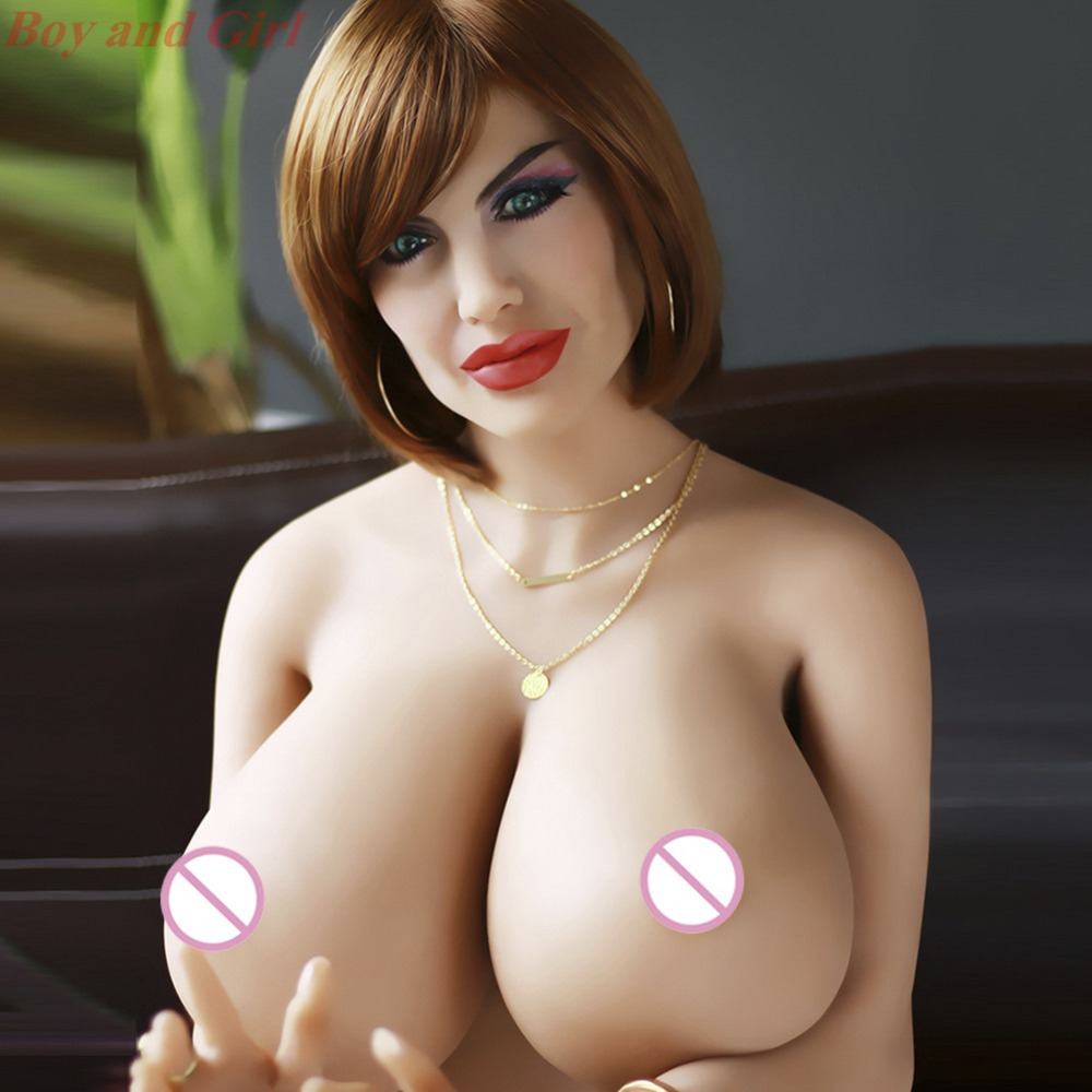 2019 New Big Ass Large Breasts 168cm Sex Doll Real Silicone Full Body Lifelike European and