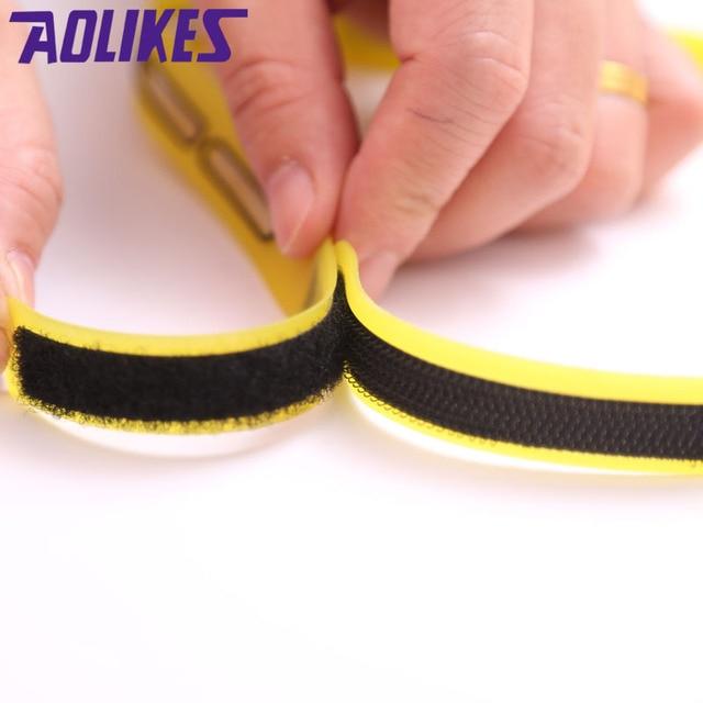 Fitness Yoga Outdoor Sports Running Adjustable Headband For Men Women Silicone Headwear Forehead Belt Sweat Absorb Hairband 4