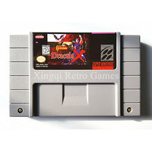 Super Nintendo SFC/SNES Игры Castlevania Дракула Х Видео Игры Картридж Консоли Карты NTSC США Английская Версия