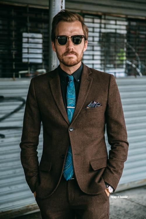 Popular Brown Tuxedo Jacket-Buy Cheap Brown Tuxedo Jacket lots ...