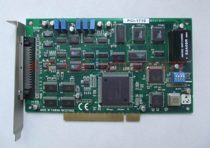 1 year warranty  New original  has passed the test     PCI-1710  REV C1 01-11 year warranty  New original  has passed the test     PCI-1710  REV C1 01-1