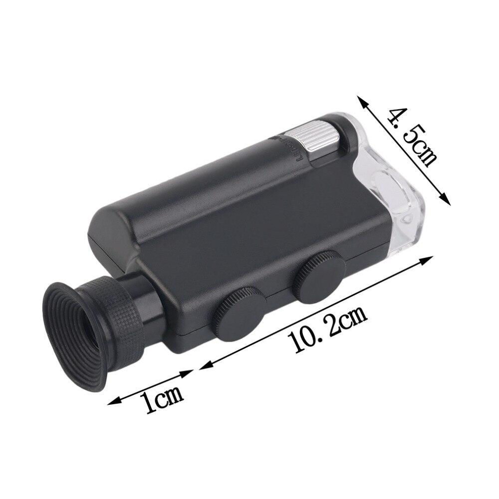 2017 m. NAUJAS Mini nešiojamas mikroskopo kišenė 200X ~ 240X - Matavimo prietaisai - Nuotrauka 6