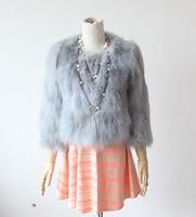 2015 Slim short design fox fur coat fur Women Women