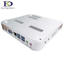 Intel Celeron 1037U Dual Core 1.8 ГГц Mini PC Тонкий Клиент с HD Graphics, Макс 8 Г RAM 256 Г SSD Win7 ОС Linux Embedded Безвентиляторный PC