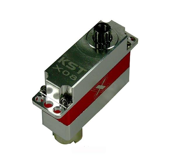 KST 8g/2.8 kg/. 09 sec boîtier en métal Micro numérique Servo X08 pour modèle RC