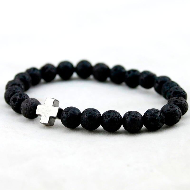 HTB1fNT4MXXXXXaJaXXXq6xXFXXXV - Unisex Lava Stone Style Beads Bracelet