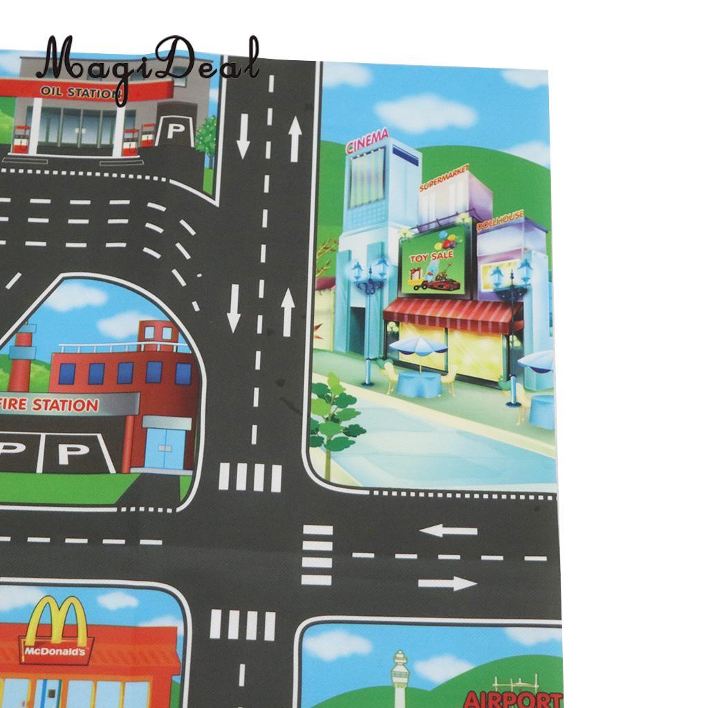 HTB1fNT8XN rK1RkHFqDq6yJAFXaW City Traffic Road Carpet Playmat Rug For Cars & Train Game Toys Baby Children Educational Play Mat For Bedroom Play Room Game #B