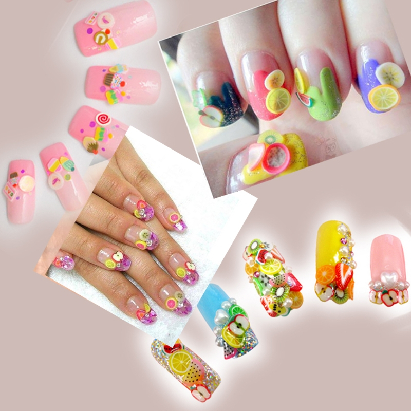 50pcs 3d cylinder polymer clay nail art sticks gel rods sticker 50pcs 3d cylinder polymer clay nail art sticks gel rods sticker smile face pattern manicure fimo canes 2017 fashion new colorful in stickers decals from prinsesfo Choice Image