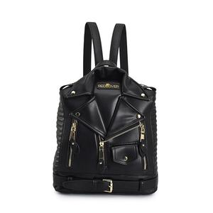Image 1 - Famous Brand Rucksack Jacket Backpacks Fashion Personalized Leather Backpack Women Designer High Quality Girls School Bags