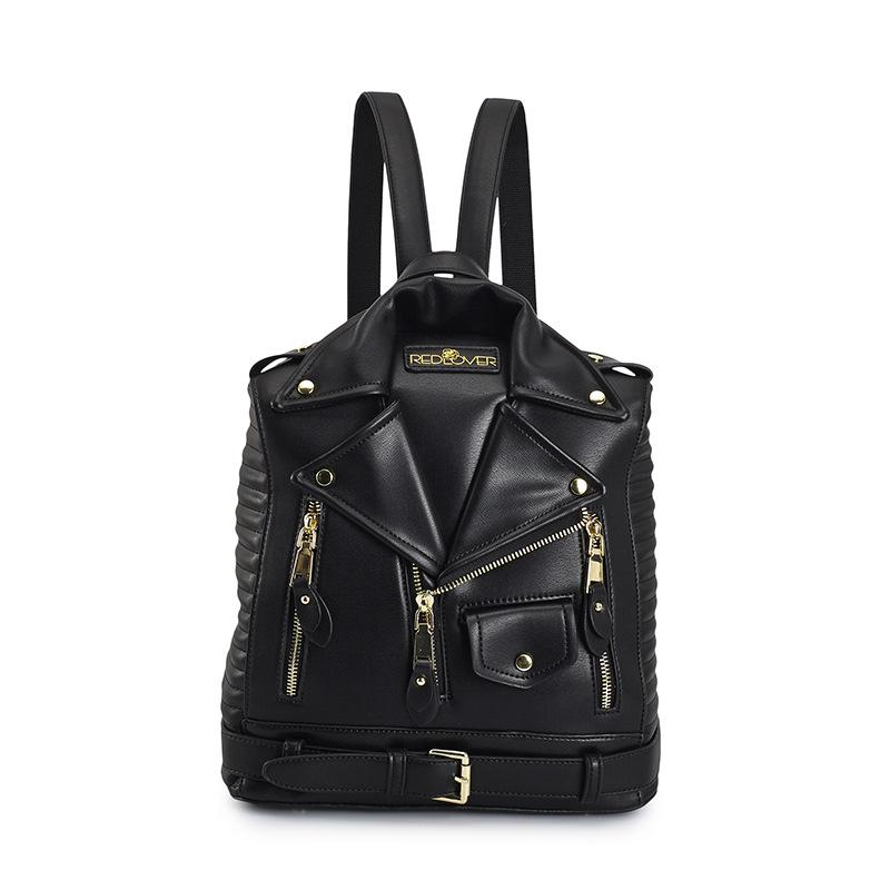 Famous Brand Rucksack Jacket Backpacks Fashion Personalized Leather Backpack Women Designer High Quality Girls School Bags