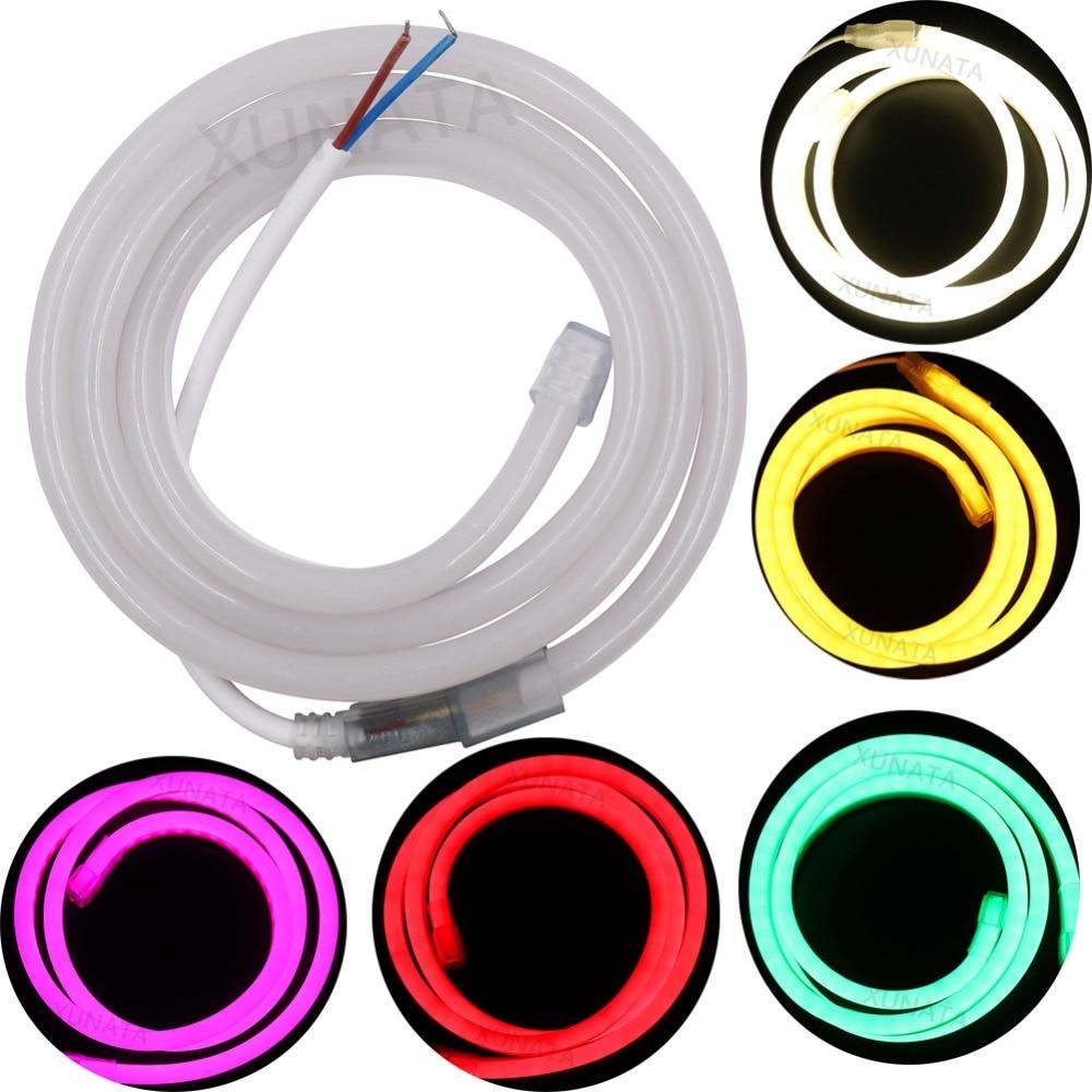 Dc 12v 24v Flexible Led Neon Rope Light