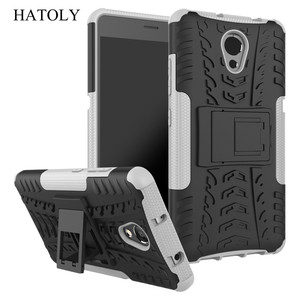 """Image 5 - Hatoly Voor Cover Lenovo P2 Case Lenovo P2 P2c72 5.5 """"Armor Silicone Hard Plastic Case Voor Lenovo Vibe P2 met Houder Stand]"""