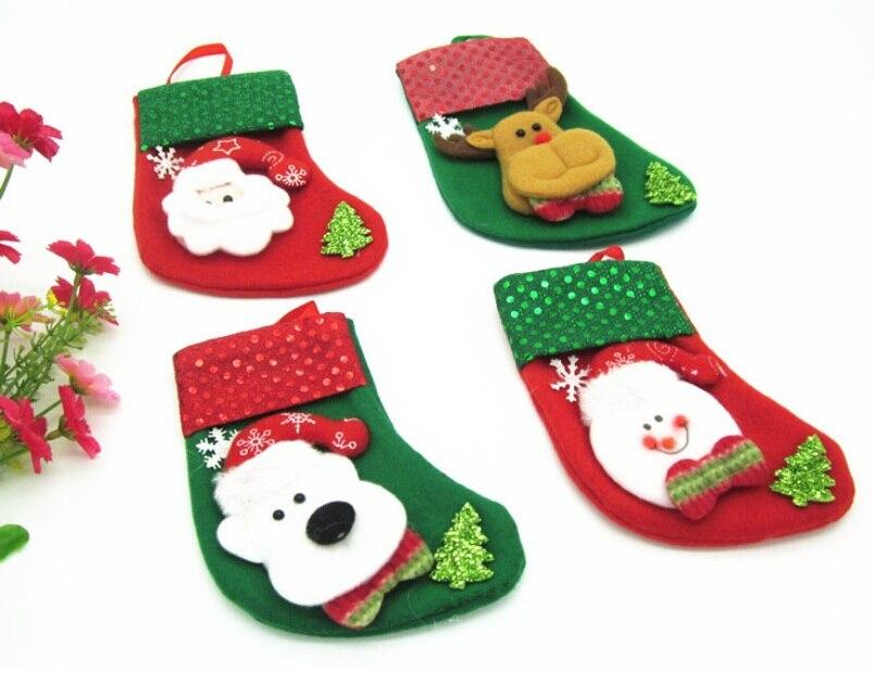 mezclado unidsset suministros de decoracin de navidad para el hogar estilo bolsa de