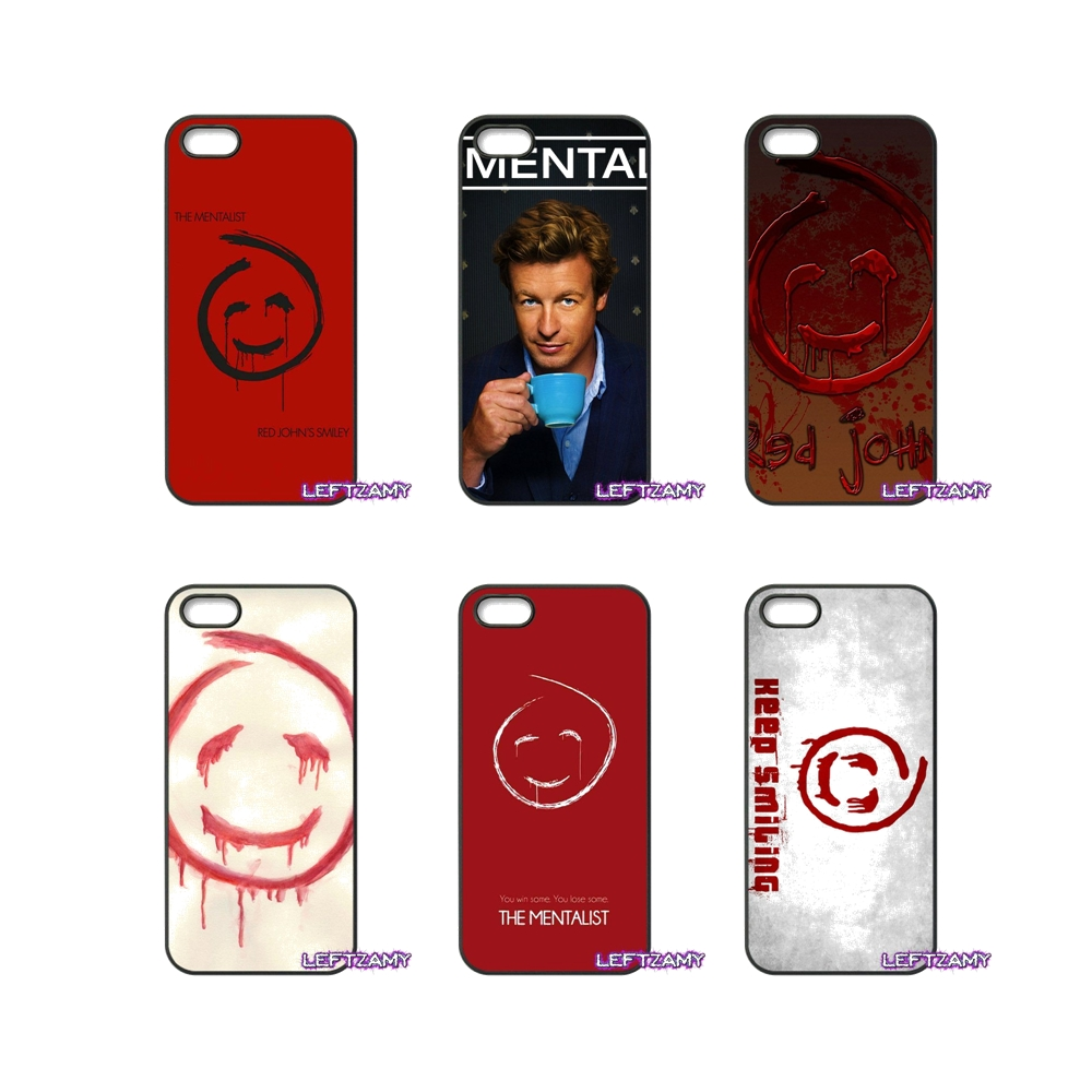 The Mentalist Red John Art Hard Phone Case Cover For iPhone 4 4S 5 5C SE 6 6S 7 8 Plus X 4.7 5.5 iPod Touch 4 5 6