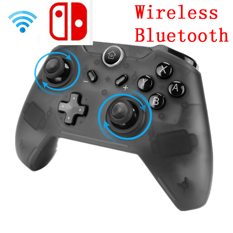 1pc/2pcs Wireless Bluetooth Remote Gamepad Pro Controller Joypad for Nintend Switch Console Gamepads Joystick bluetooth multifunction remote controller vr console white