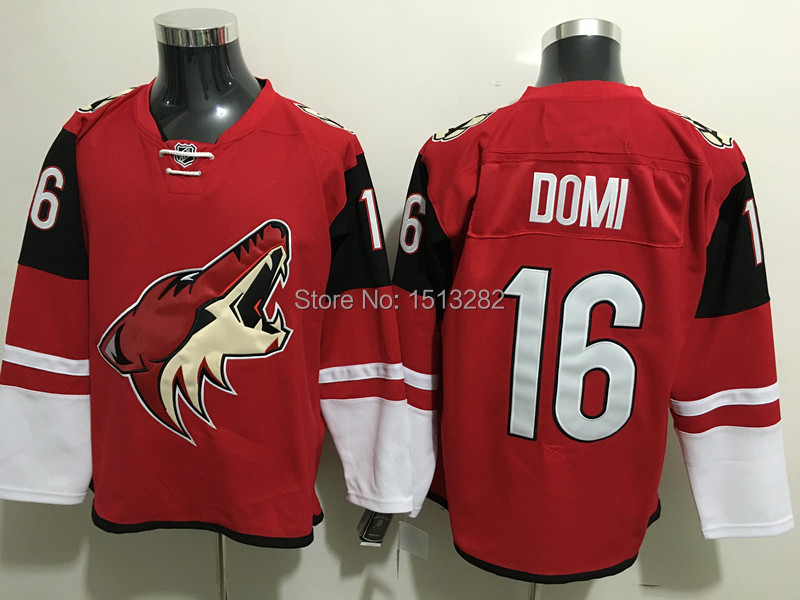 on sale b1f4a 78246 Free Shipping #16 Max Domi Jersey Authentic Arizona Coyotes ...