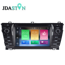 JDASTON 7 INCH 2 DIN 2GB Android 6.0 Car DVD Player For TOYOTA COROLLA 2014 Eight Core 1080P Radio Multimedia GPS Navigation