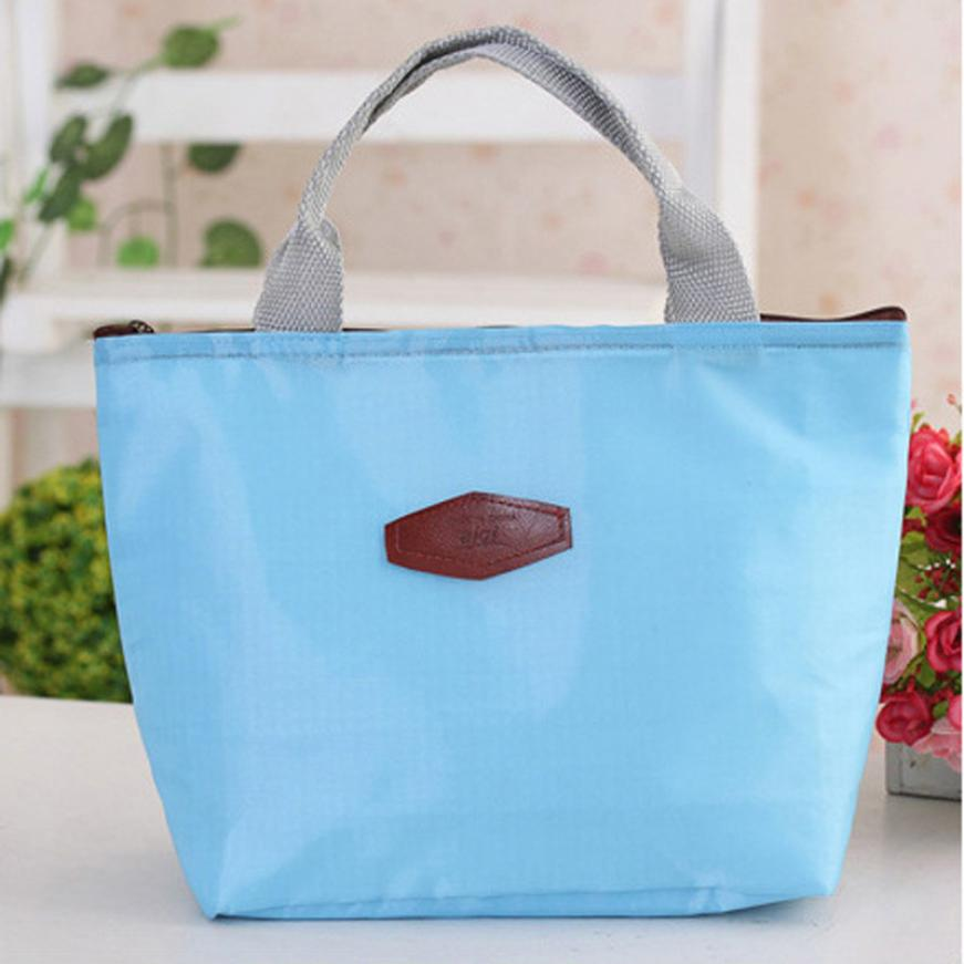 New Qualified 2017 Hot Storage Thermal Insulated Lunch Box Tote Cooler Bag  Bento Pouch Lunch Container Levert Dropship Dig6823