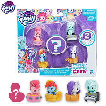My Little Pony Original Cutie Mark Collection Pack Blind Box Soft Girl Doll Toy E0193  Action Figure Toys for Children Gifts