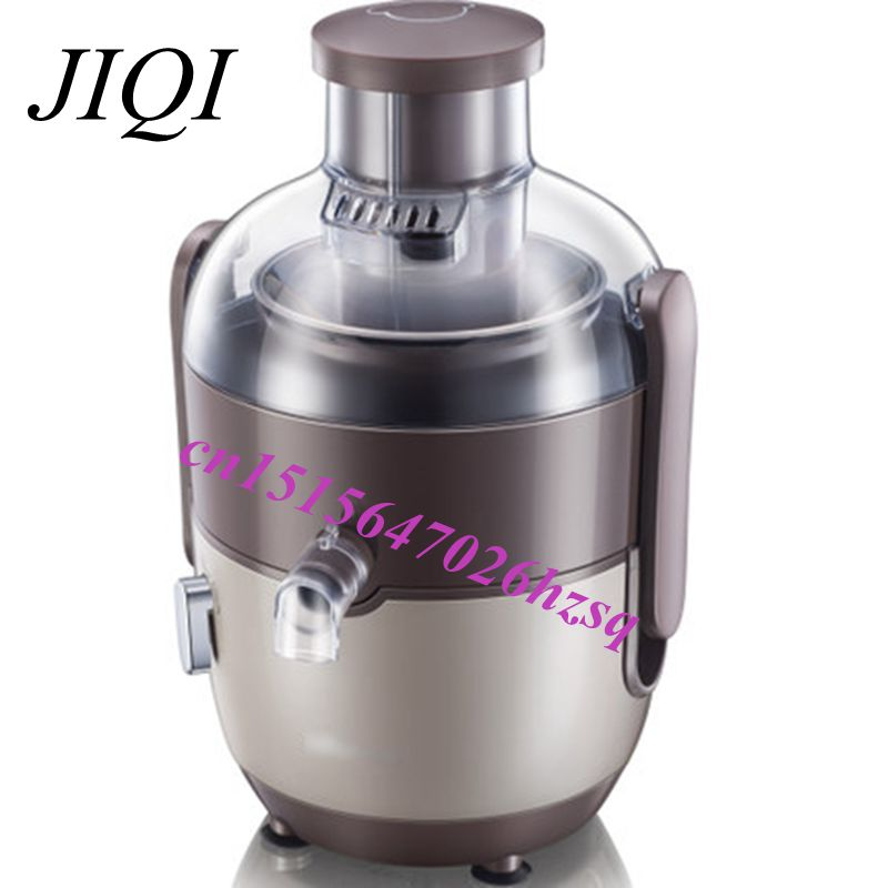 JIQI Electric Juicer Fruits Vegetables high Speed Juice Extractor centrifugal Juicer 220V цена 2017
