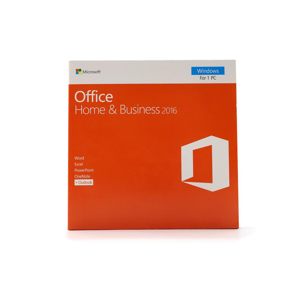 Microsoft Office Home&Business 2016 For Windows License Include Key Card With Retail Box Software Online Download Install,1 User(China)