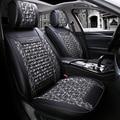 Cubierta de asiento de coche cubre asientos para Toyota Land Cruiser 80 100 Prado 120 150 200 Land Cruiser-Prado yaris de 2018 2017 2016 2015