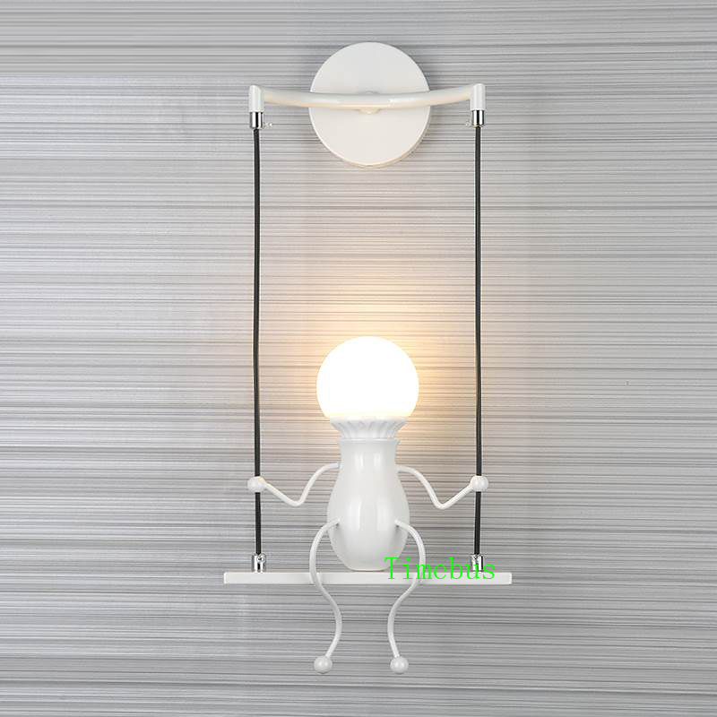 Moderne led Wandlamp LivingRoom Ijzer led Vanity Light Slaapkamer Nachtkastje Wandkandelaar Badkamer led Spiegel Licht Industriële Wandlamp - 3