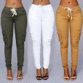 Elastic Sexy Skinny Pencil Jeans For Women Leggings Jeans Woman High Waist Jeans Women's Thin-Section Denim Pants