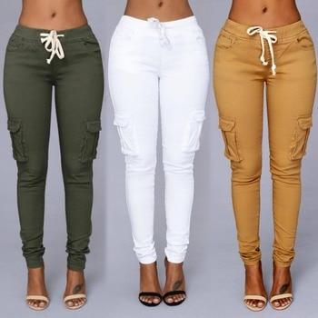 Ladies Thin-Section Denim Jeans