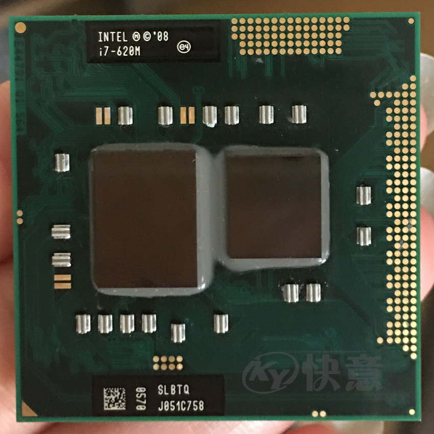 Intel Core i7 620M 2 66GHz 4M Socket G1 Laptop Processor CPU i7 620m