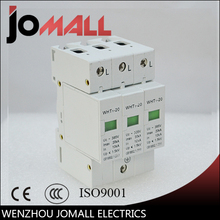 SPD 2P+N 10KA~20KA D ~385VAC House Surge Protector Protective Low-voltage Arrester Device стоимость
