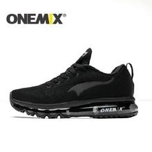 ONEMIX 2019 Для мужчин обувь для бега легкая Для женщин кроссовки мягкие Обувь с дышащей сеткой дезодорант стельки уличная спортивная ходьба кроссовки