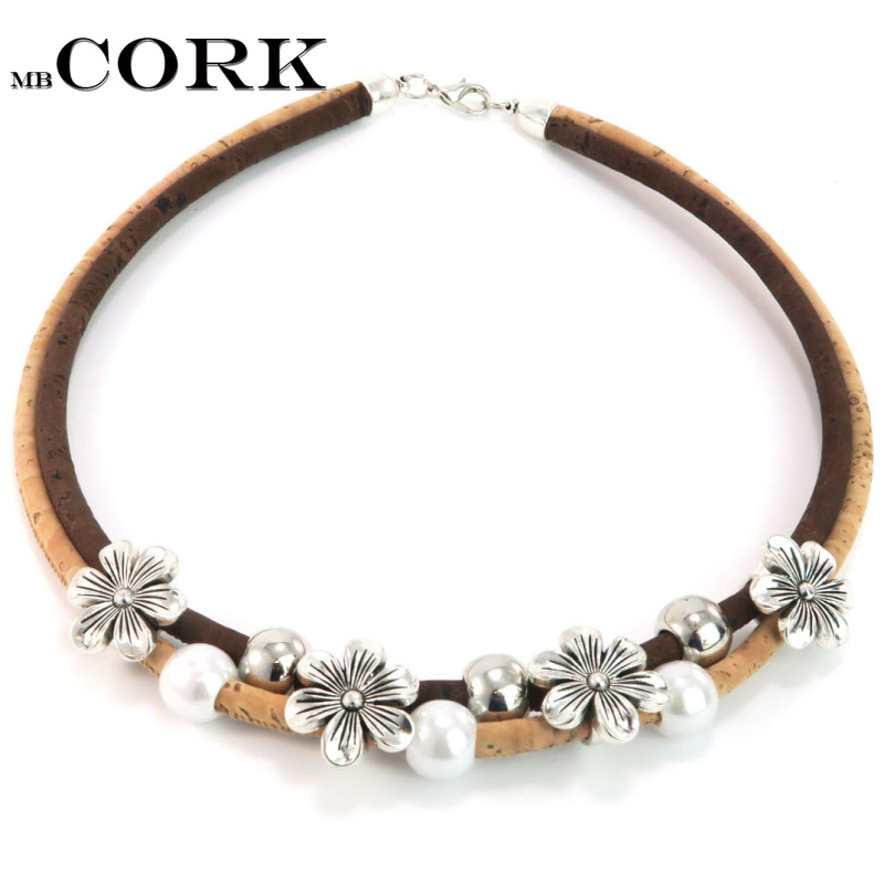 Cork Jewelry: Aliexpress.com : Buy MB Cork Flowers, Pearls, Silver And
