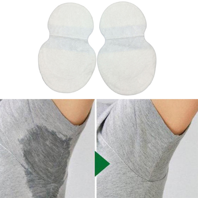 1Pair Disposable Underarm Sweat Guard Pad Armpit Sheet Liner Dress Clothing Shield Deodorants Underarm Sweat Pads