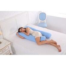 U форма 130 * 70 см подушки для беременных Удобная подушка для беременных женщин