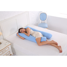U shape 130*70CM Maternity pillows Comfortable Body pregnancy pillow Women pregnant Side Sleepers cushion 12 130 u